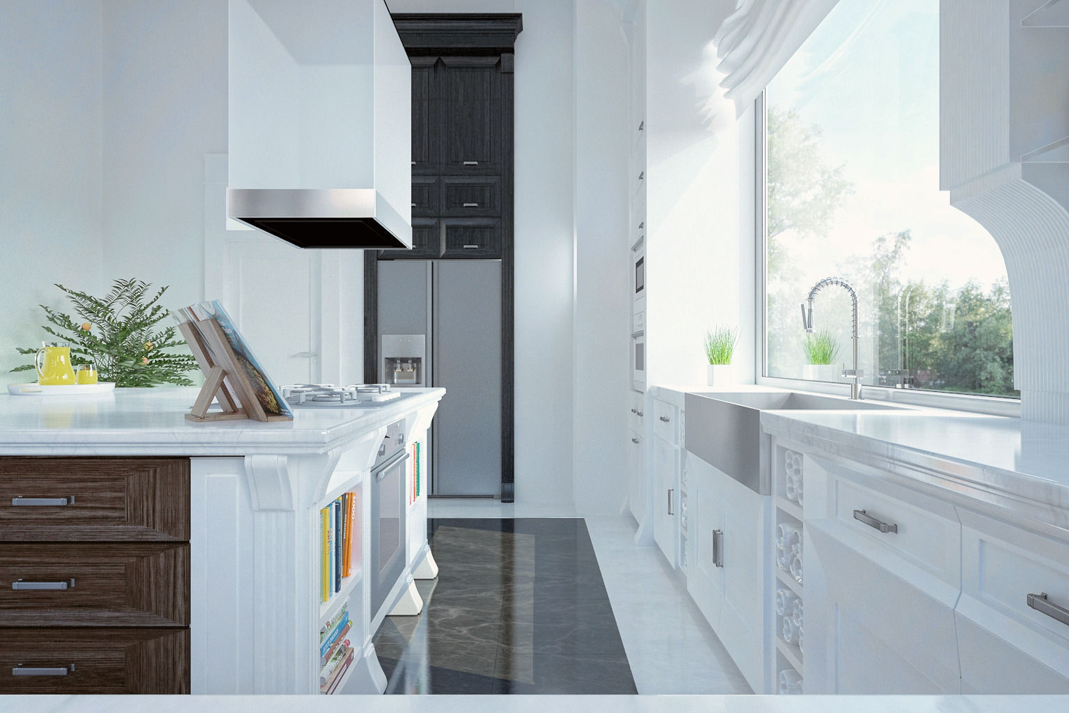 kitchen design 3d model.  royal kitchen design interior 3d model max 3 3D Royal CGTrader