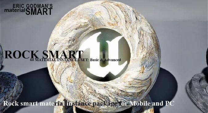 rock materials 3d model uasset 1