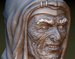 Necromancer Head 3D printable model