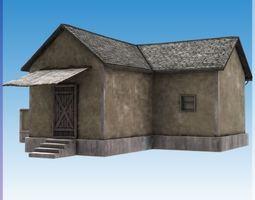 Blocks village4 3D asset realtime