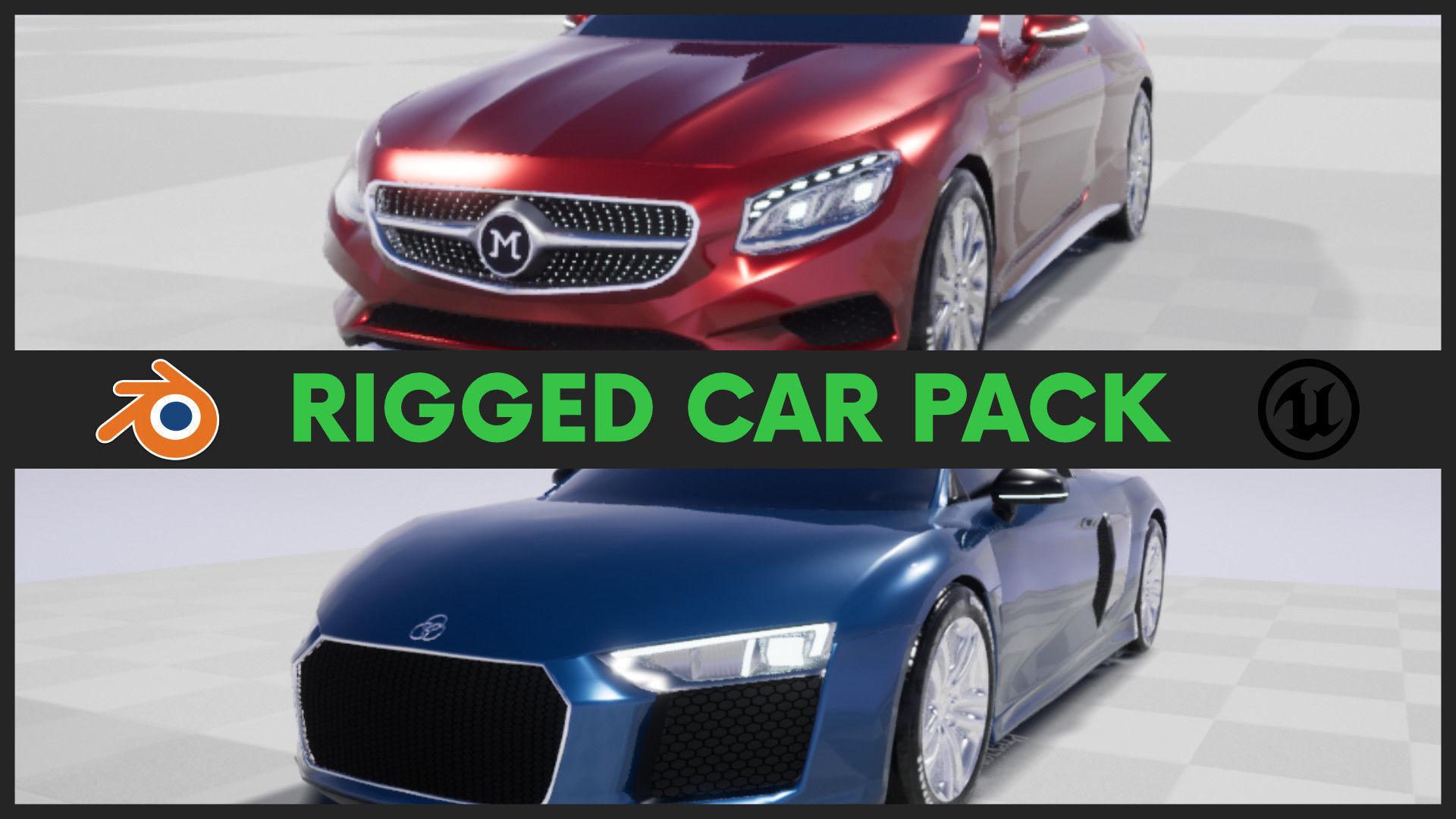 Car Pack-Game Ready-UE4