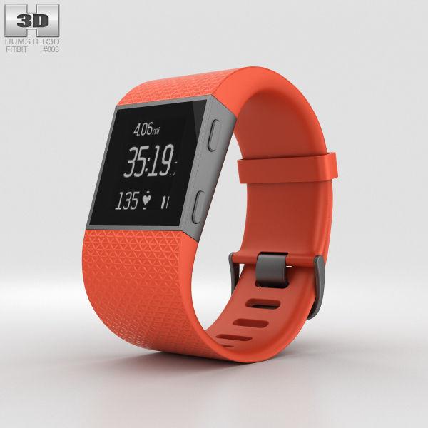 Fitbit Surge Tangerine