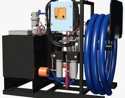 Spray Pump Equipment 3D