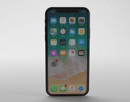 Apple iPhone X - Element 3D