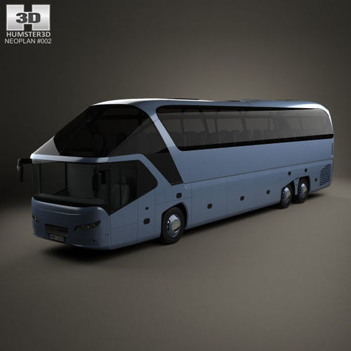 neoplan starliner shd l bus 2006 3d model max obj mtl 3ds fbx c4d lwo lw lws 1