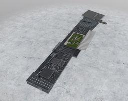 3D asset LOWS Terminal