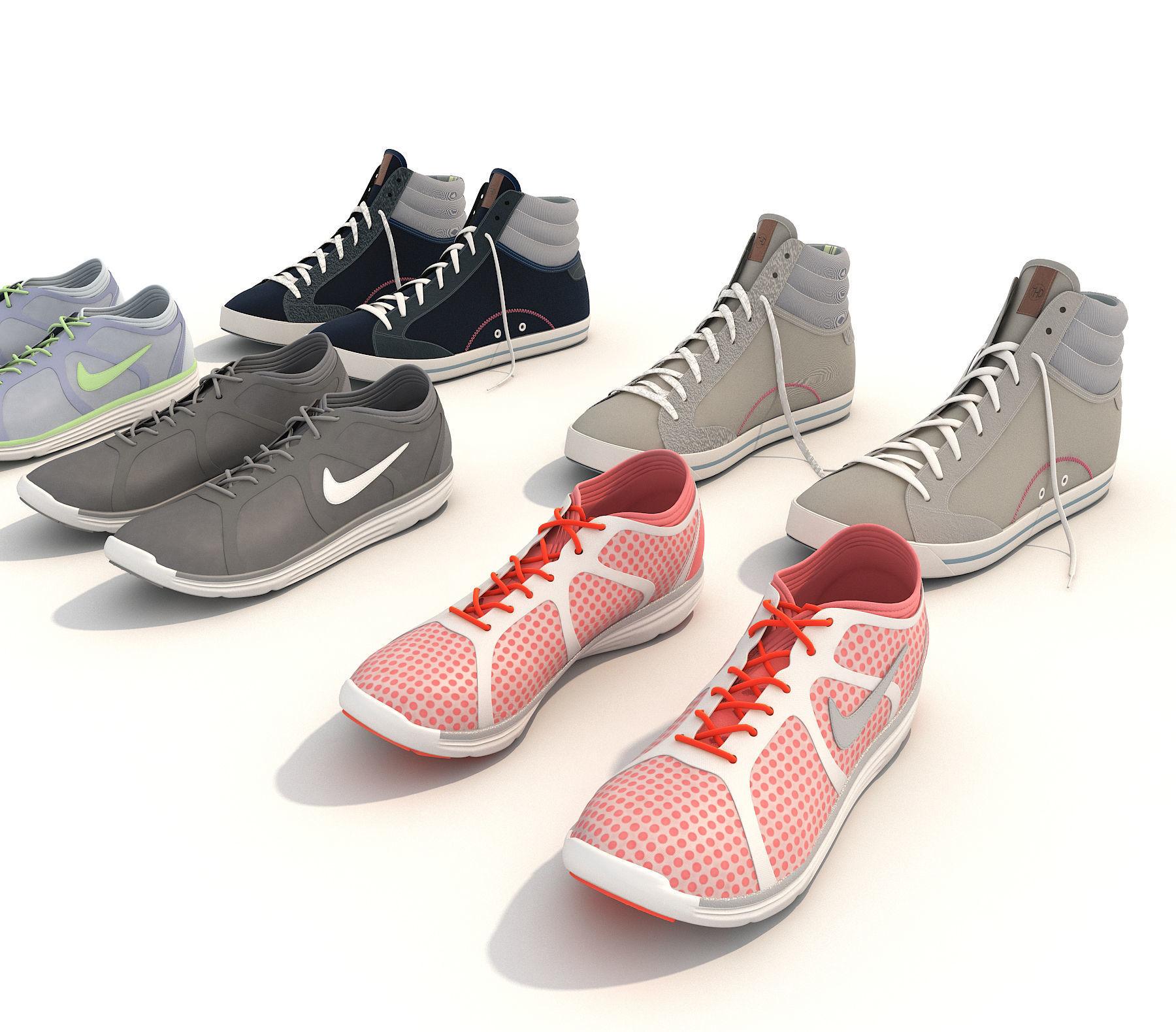 ... sport shoes 2 3d model max obj fbx mtl 2 ... c69fe39fe
