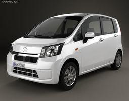 3D Daihatsu Move 2012