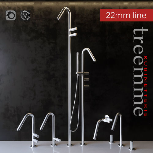 3D Faucets Rubinetterie Treemme   CGTrader