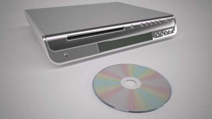 home cinema dvd player  3d model max 1