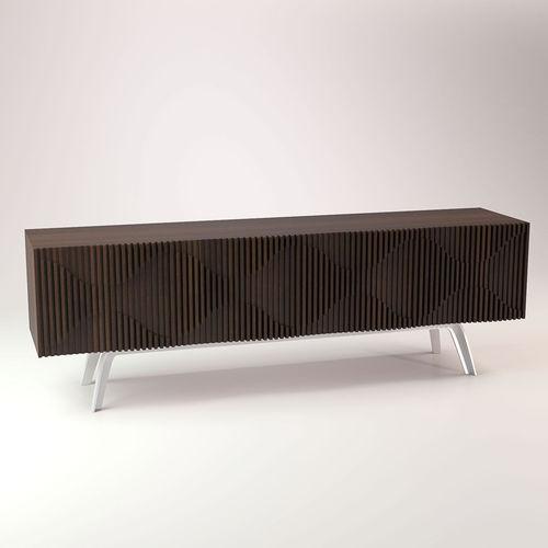 Bedside table TV table 3D Model MAX OBJ FBX MTL  CGTradercom -> Modèle Table Tv