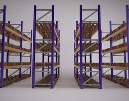 3d warehouse racking