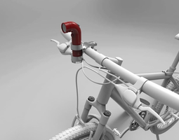 RE Camera Bicycle Mount - 3D Print 3D Model