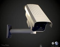 3D asset Security Camera PBR