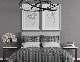 3D Bedroom set 6