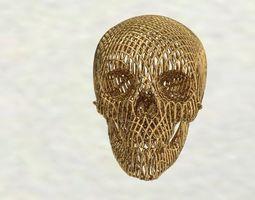 human-skeleton 3D print model skull