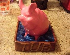 Piggy Bank - Hot Tub Fund 3D print model