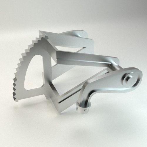 motocycle metal part 3d model max obj mtl 3ds fbx 1