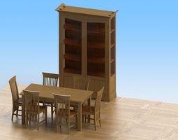 diningroom 3D model