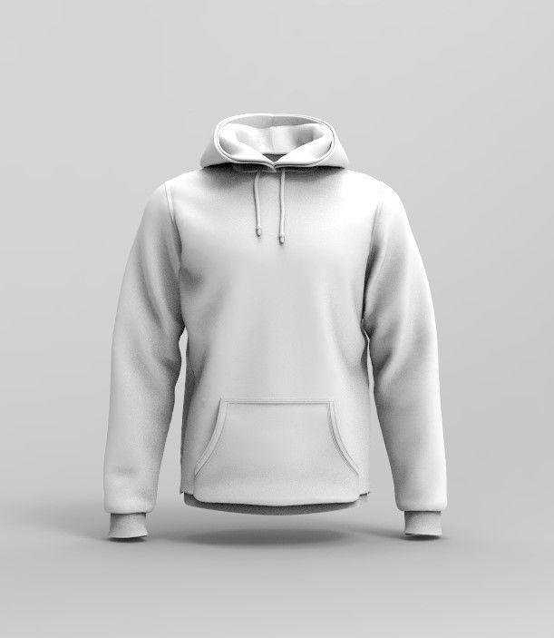 Mens Hoodie - Marvelous Designer