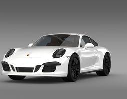 porsche 911 carrera 4 gts coupe 991 2015 3d model