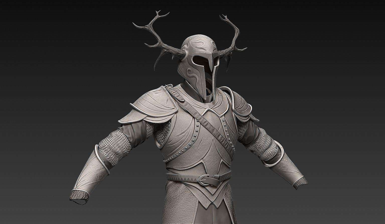 Zbrush Fantasy Armor