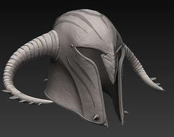 Zbrush Medieval Helmet 3D model