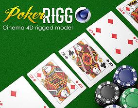 Poker RIGG 3D asset