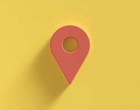 3D model Web Icon Pin