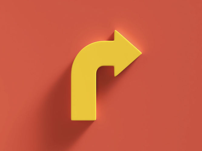 arrow bold right 3d model obj mtl fbx ma mb 1