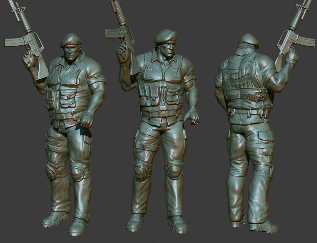 Army man photo