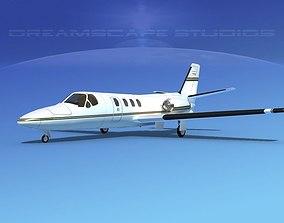 Cessna 500 Citation I V06 3D