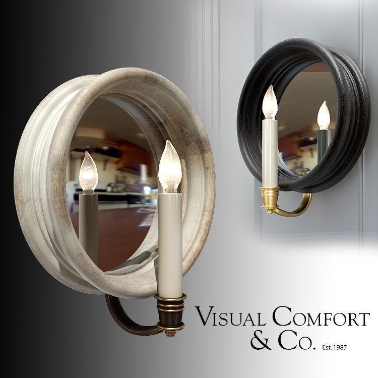Visual Comfort Chelsea Medium Reflection Sconce