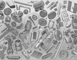 3D model Sfdemir Metal Kit Set