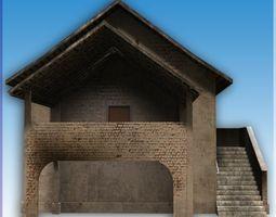 Blocks village7 3D asset