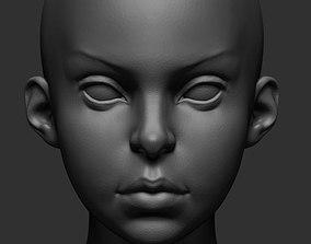 3D Stylized Female v2