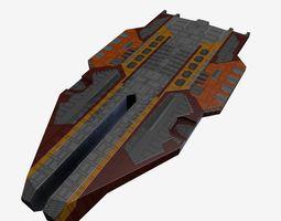 3D model StarFreighter