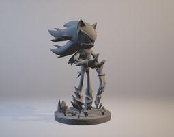 3D print model Mephiles the Dark Sonic X