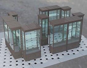 3D commercial pavilion