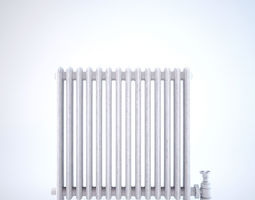 3D Classical vintage radiator