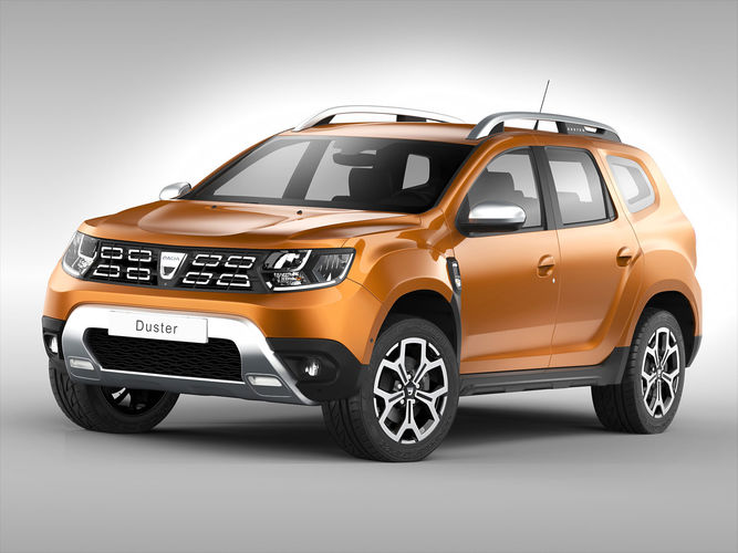3d dacia duster 2018 cgtrader. Black Bedroom Furniture Sets. Home Design Ideas