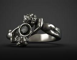 Ring angels 3D print model