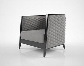 3D Oasis Saten armchair