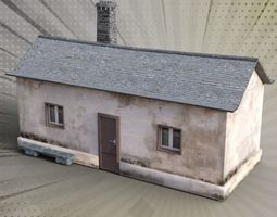 BLOCKS VILLAGE 8 3D model realtime