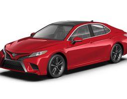 3D model 2018 Toyota Camry