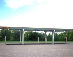 3D model Tesla Charging Station
