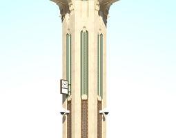 islamic column 3D model