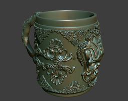 Skull Cup 3D Printable other
