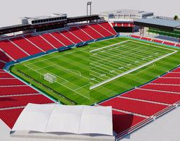 Toyota Stadium - Texas 3D asset