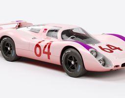 Porsche 908 3D model